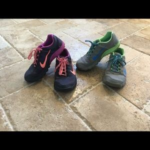 2 PAIRS! Bike Zoom shoes 🍀 you gently used 💜